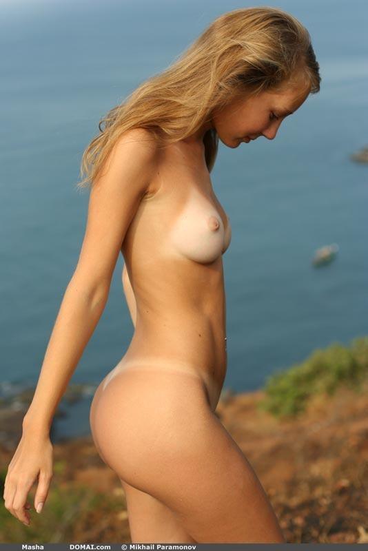 Mascha domai nude model