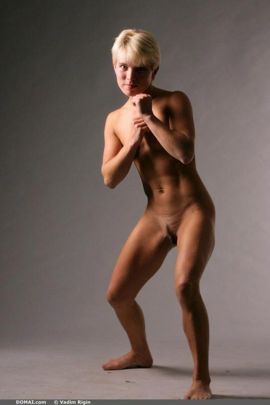 Nude women martial arts