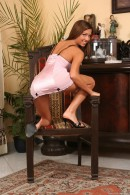 Britany in Chair 1 gallery from THELIFEEROTIC by Richard Menzi - #7