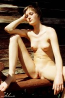 Zuzana in Wooden Bench gallery from ERROTICA-ARCHIVES by Erro - #6