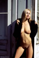 Madeline in Black Coat gallery from ERROTICA-ARCHIVES by Erro - #1
