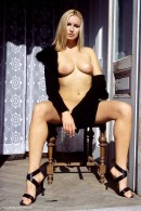 Madeline in Black Coat gallery from ERROTICA-ARCHIVES by Erro - #6