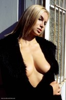 Madeline in Black Coat gallery from ERROTICA-ARCHIVES by Erro - #9
