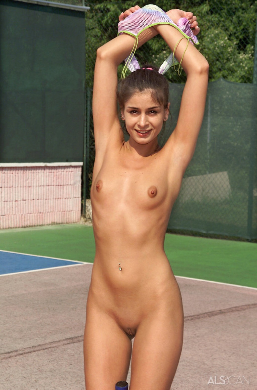 Lucy Lee & Nella nude pics in Tennis Queen from ALS SCAN