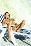 Bellena in In White Bikini gallery from ERROTICA-ARCHIVES by Erro - #12