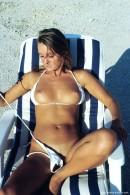 Bellena in In White Bikini gallery from ERROTICA-ARCHIVES by Erro - #4