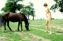 Olga in Horse gallery from ERROTICA-ARCHIVES by Erro - #8