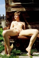 Zuzana in Wooden Bench gallery from ERROTICA-ARCHIVES by Erro - #7