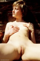 Zuzana in Wooden Bench gallery from ERROTICA-ARCHIVES by Erro - #9