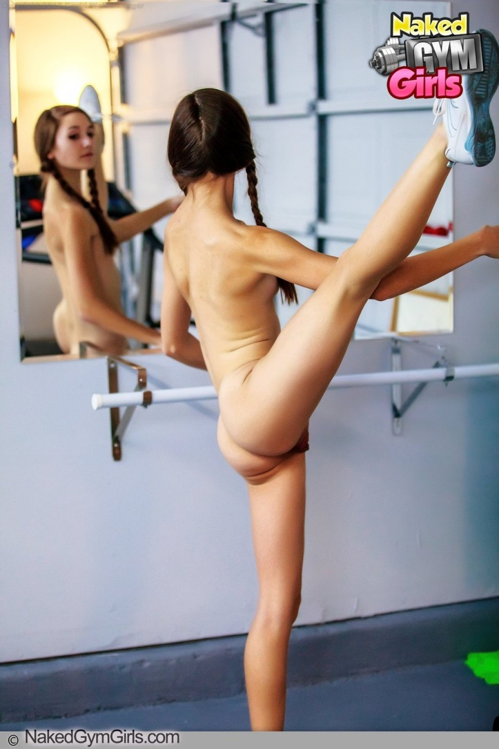 Claire Presents Ballerina Workout Shot By Davidnudesworld-5671