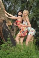 Kristina & Valery in Cedar gallery from METMODELS by Michael Maker - #12
