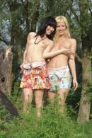 Kristina & Valery in Cedar gallery from METMODELS by Michael Maker - #5