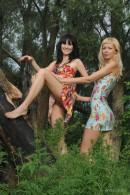 Kristina & Valery in Cedar gallery from METMODELS by Michael Maker - #9