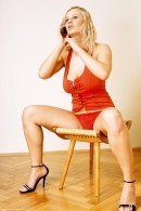 Sandra in Red Top gallery from ERROTICA-ARCHIVES by Erro - #1