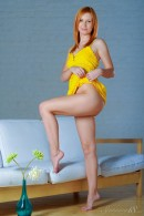 Nikky B in Yellow Flower gallery from STUNNING18 by Antonio Clemens - #16