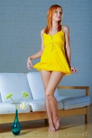 Nikky B in Yellow Flower gallery from STUNNING18 by Antonio Clemens - #5