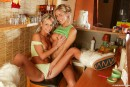 Josje B & Sandy M in Gorgeous blonde young lesbians gallery from CLUBSEVENTEEN - #14