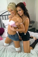 Kim G & Christine D in Yll 517 gallery from CLUBSEVENTEEN - #15