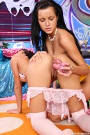 Ella B & Amanda F in Hot sexy friends playing with a vibrator video from CLUBSEVENTEEN - #9