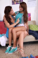 Marina Angel & Syren Demer in My Stepmom Loves College gallery from MOMSTEACHSEX - #9