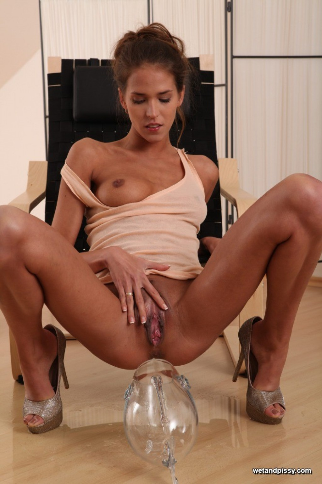 Silvie DeLux nude pics in Silvie from WETANDPISSY