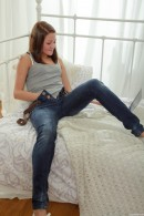 Elena C in Elena Fucking Her Nerdy Roommate gallery from CLUBSEVENTEEN - #4