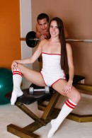 Bailey Bam in Sporty Teen Sucks Off Her Personal Trainer gallery from CLUBSEVENTEEN - #10