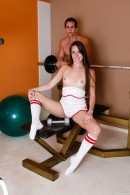 Bailey Bam in Sporty Teen Sucks Off Her Personal Trainer gallery from CLUBSEVENTEEN - #8