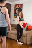 Evelina Darling in Lovely Evelina Fucked By Nerd gallery from CLUBSEVENTEEN - #3
