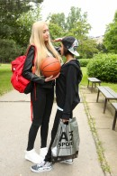 Anabelle & Jessey in Very Tall Girl Fucking Small Busty Teen gallery from CLUBSEVENTEEN - #2