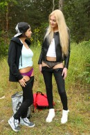 Anabelle & Jessey in Very Tall Girl Fucking Small Busty Teen gallery from CLUBSEVENTEEN - #9