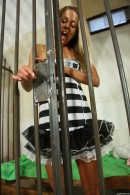 Christen in Sexy Police Officer Masturbating gallery from CLUBSEVENTEEN - #1