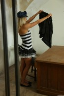 Christen in Sexy Police Officer Masturbating gallery from CLUBSEVENTEEN - #11