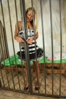 Christen in Sexy Police Officer Masturbating gallery from CLUBSEVENTEEN - #15