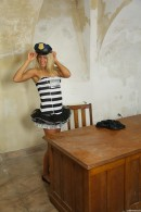 Christen in Sexy Police Officer Masturbating gallery from CLUBSEVENTEEN - #6