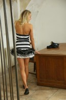 Christen in Sexy Police Officer Masturbating gallery from CLUBSEVENTEEN - #8