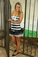 Christen in Sexy Police Officer Masturbating gallery from CLUBSEVENTEEN - #9