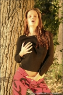Sandra Shine in Alone On The Trail gallery from MPLSTUDIOS - #18