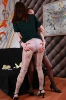 Clara & Alice in hairy lesbians gallery from ATKPETITES - #8