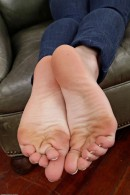 Shelly Starr in footfetish gallery from ATKPETITES - #10