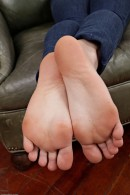 Shelly Starr in footfetish gallery from ATKPETITES - #9