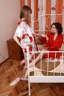 Lizaveta K & Vasilisa in hairy lesbians gallery from ATKPETITES - #9