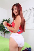 Leah Cortez in upskirts and panties gallery from ATKPETITES - #9