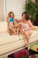 Alicia Silver & Tinslee Reagan in hairy lesbians gallery from ATKPETITES - #8