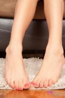 Megan Salinas in footfetish gallery from ATKPETITES - #11