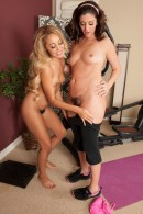 Alicia Silver & Tinslee Reagan in hairy lesbians gallery from ATKPETITES - #1
