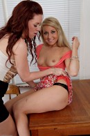 Vallerie White & Lizzie Tucker in lesbian gallery from ATKPETITES - #9