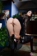 Aimee Black in upskirts and panties gallery from ATKPETITES - #12
