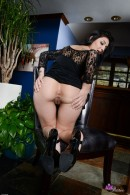Aimee Black in upskirts and panties gallery from ATKPETITES - #13