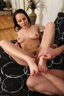Katie St Ives in footfetish gallery from ATKPETITES - #15